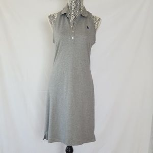 polo by Ralph Lauren polo dress gray sleeveless